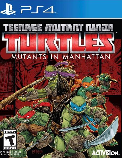 TMNT - Mutants in Manhattan PS4