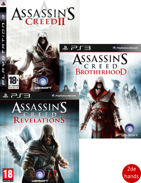 Assassins Creed pack PS3