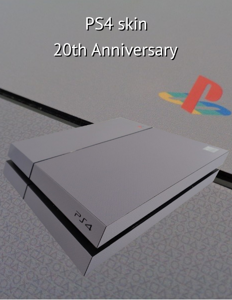 PS4 Skin 20th anniversary