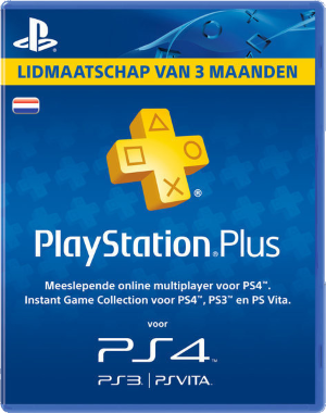 3 Maanden PlayStation Plus