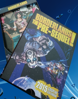 een Borderlands kalender