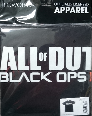 Call Of Duty Black ops III shirt