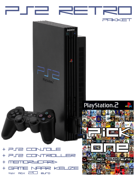 PS2 RETRO Pakket