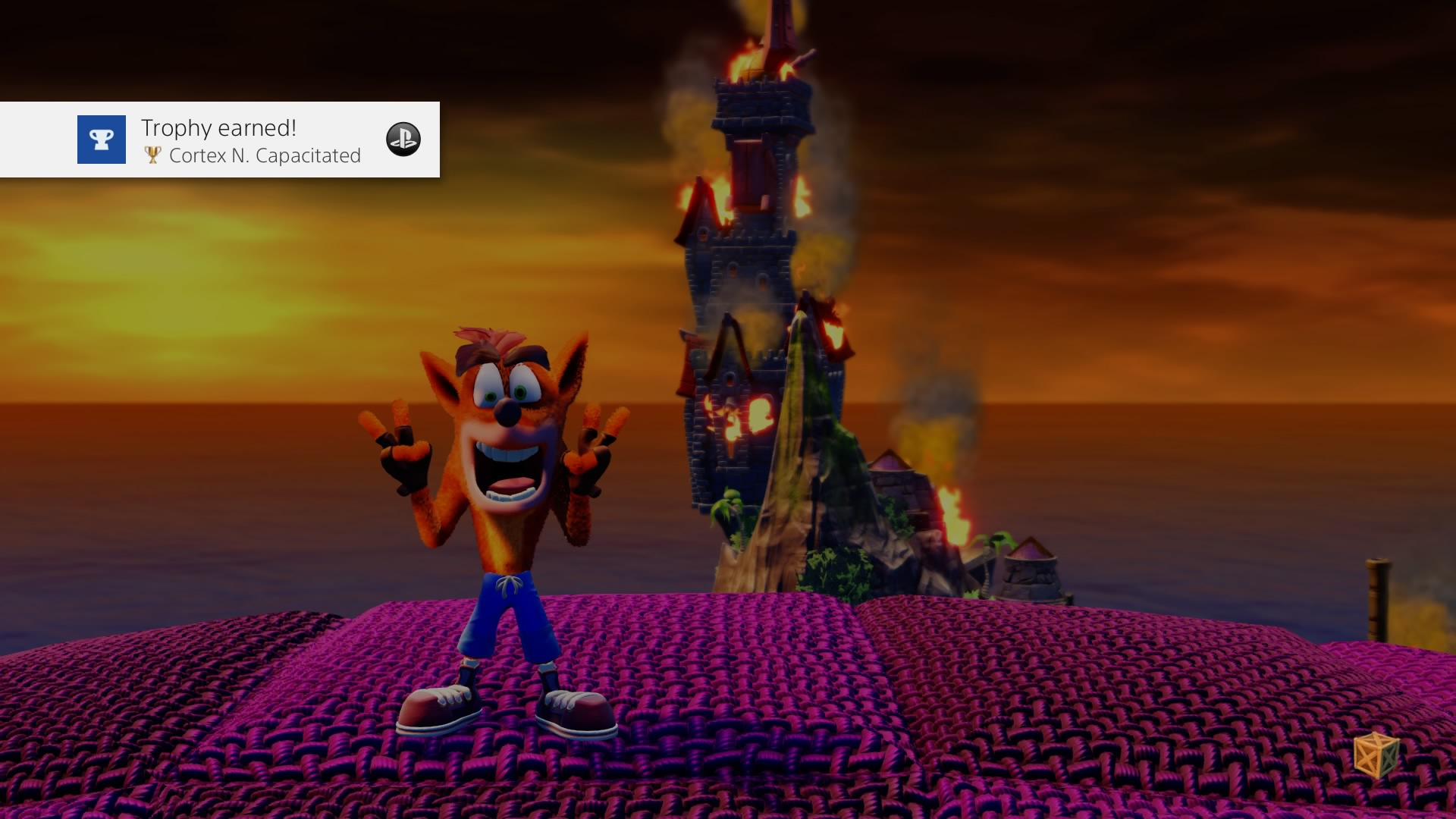Crash Bandicoot Cortex N. Capacitated (Gold)