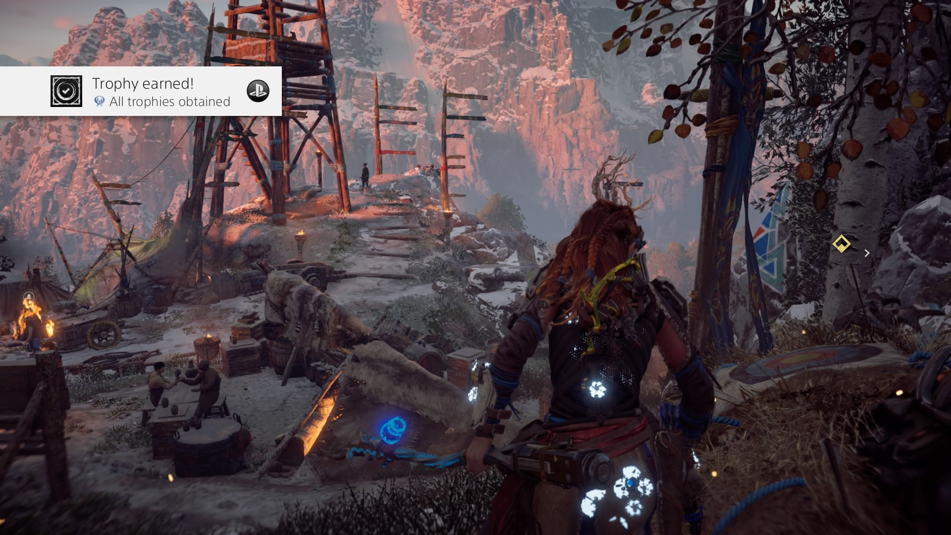 Horizon Zero Dawn All trophies obtained (Platinum)